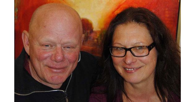 Ronny och Katarina Hård: – konstnärer med egen teknik