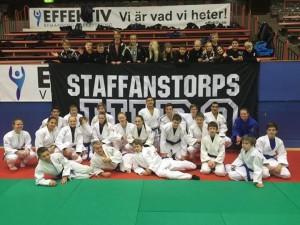 Staffanstorps Judoklubbs deltagare på Kadett och Junior SM i Borås.