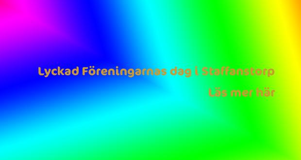 Lyckad Föreningarnas dag i Staffanstorp